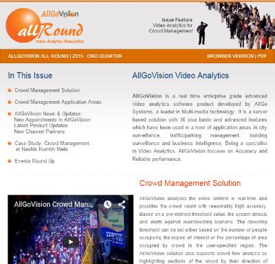 AllGoVision Newsletter 2015 - Q - OND