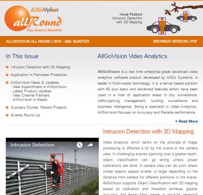 AllGoVision Newsletter 2016 - Q - AMJ