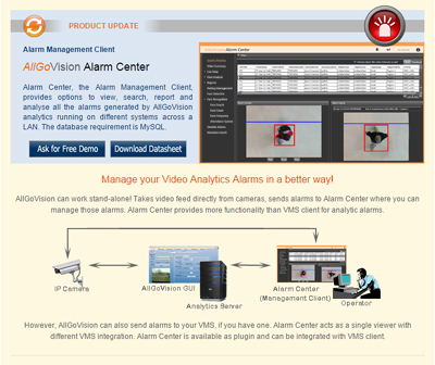 AllGoVision Product Update May - 2015