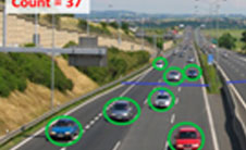 Video Analytics Features for City Surveillance, Traffic Management